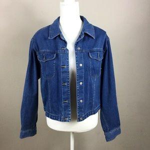 Liz Claiborne softwash denim jacket